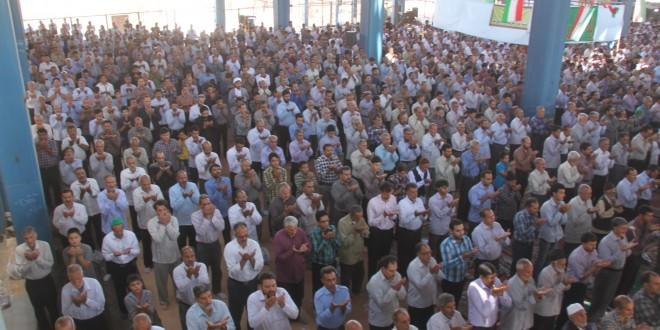 برگزاری دومین نماز جمعه ماه مبارک رمضان سال ۹۳ در قسمت جدید مصلای گناباد